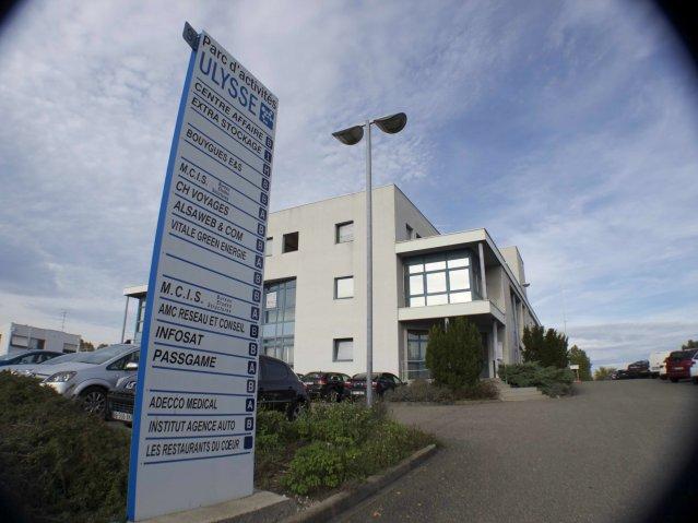 Centre affaires Ulysse extérieur