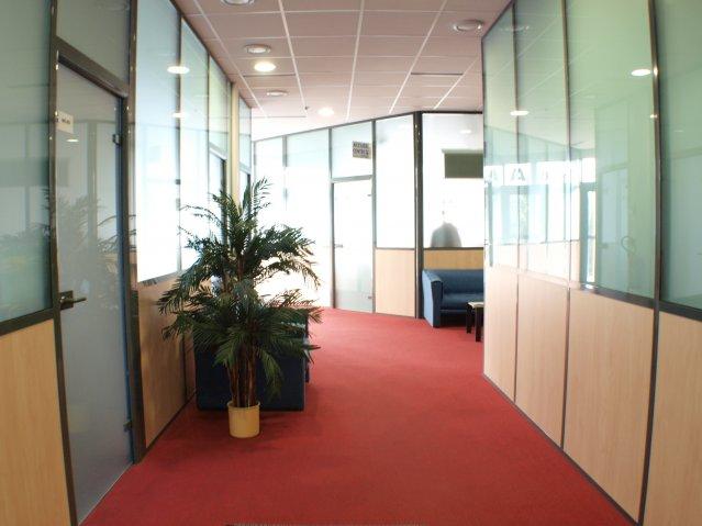 Entrée centre affaires Ulysse Mulhouse